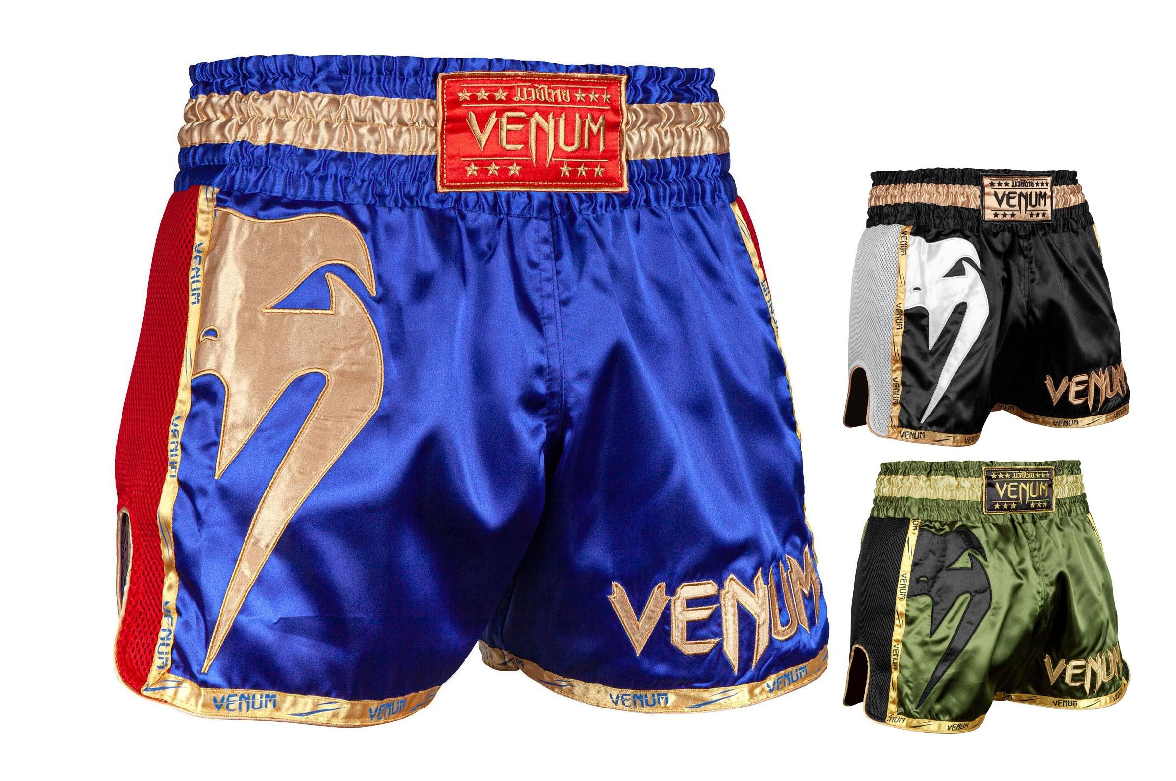 Pantalones Cortos De Muay Thai Giant Venum