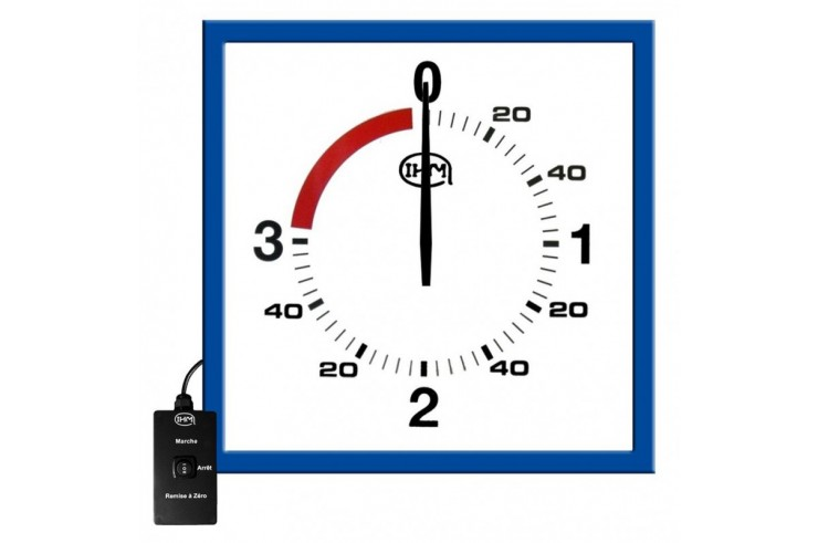 Wall boxing timer - With wired control, IHM