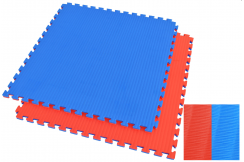 Puzzle Mat 4cm, Bleue/Reg, Rice Straw pattern (Grappling)