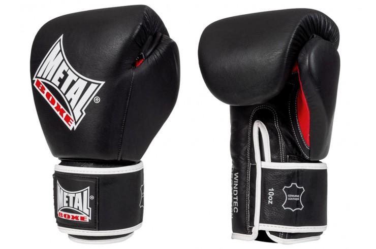 Guantes de boxeo de Cuero, OKO - GRGAN210N, Metal Boxe