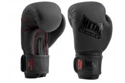 Guantes de boxeo niños, Mini Black - MBGAN001N, Metal Boxe