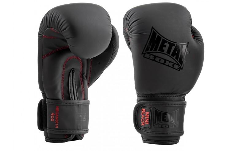 Boxing gloves (2-5yo), Mini Black - MBGAN001N, Metal Boxe