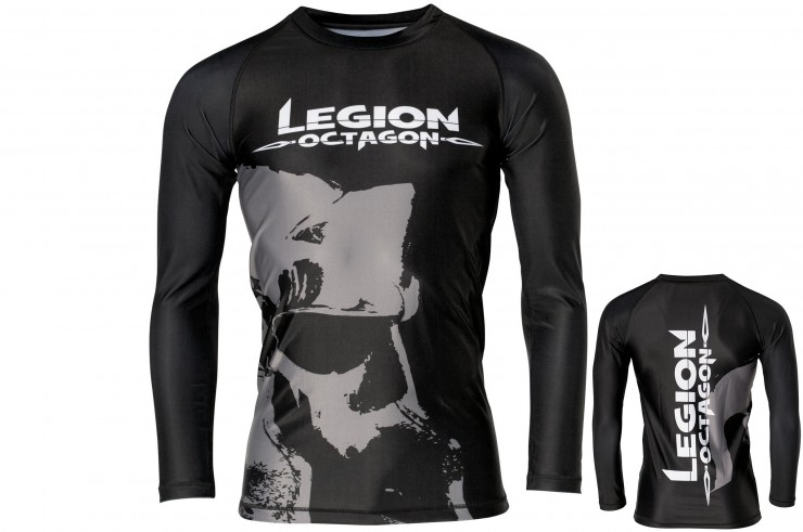 Rashguard with long sleeves, Legion Octagon