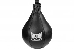 Speed bag leather , Heracles - FR8815, Metal Boxe