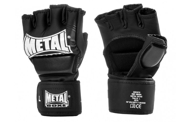 Free Fight gloves, With thumb - MB594, Metal Boxe