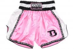 Muay Thai Short, Pink - Booster