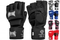 Guantes MMA sin nudillos, competición y entrenamineto - MBGAN534N, Metal Boxe