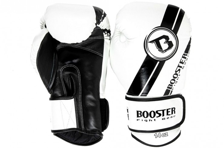 Boxing gloves, Leather - BGL V3, Booster
