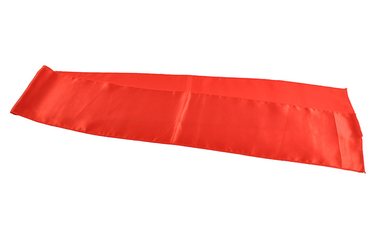 Satin belt - Red