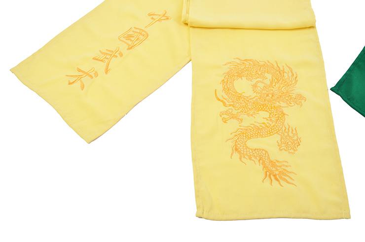 Cinturón Clásico Bordado - Amarillo