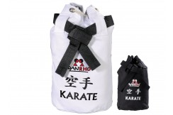 Bag for karate kimono - White - Black