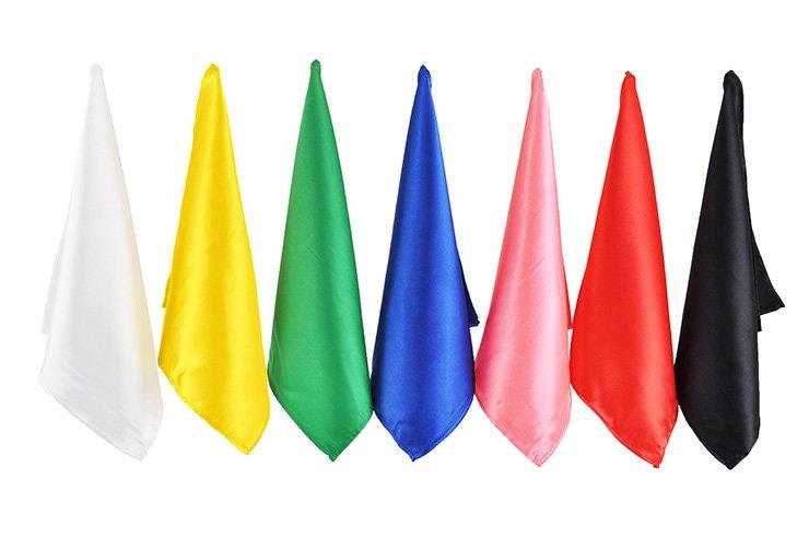 2 foulards 33cm - Rouge
